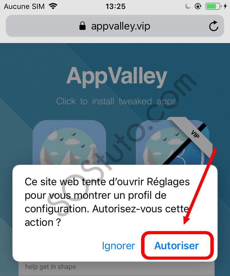 autoriser installation AppValley Télécharger AppValley pour iPhone, iPad, iPod (iOS 2019)