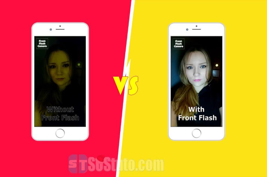 prendre selfie avec flash Comment prendre un bon selfie la nuit avec la camera frontale sur iPhone ou Android