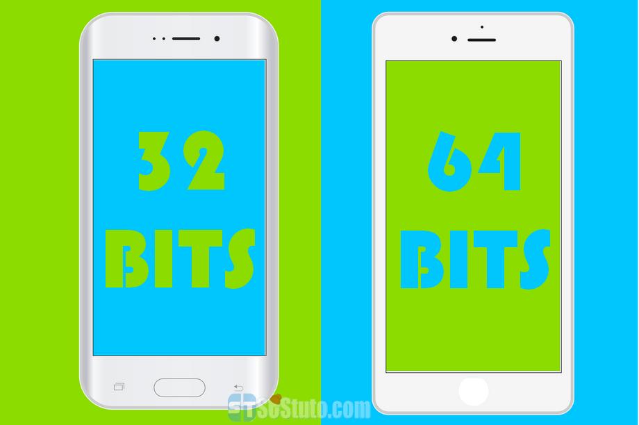 smartphone 32bit 64bit iPhone, Smartphone Android 32 ou 64 bits : Quelle est la différence ?