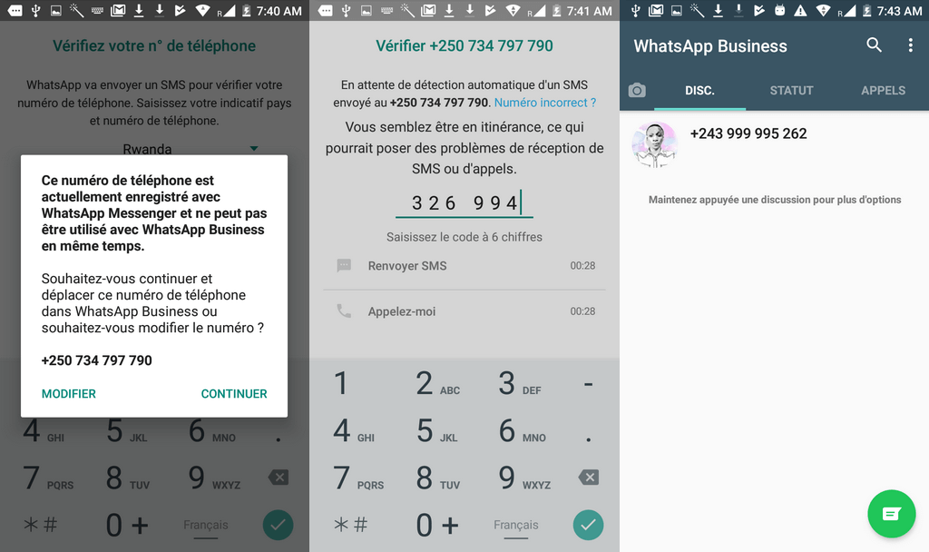 Configurations WhatsApp Business 1024x608 Télécharger WhatsApp Business pour Android + Comment l'utiliser
