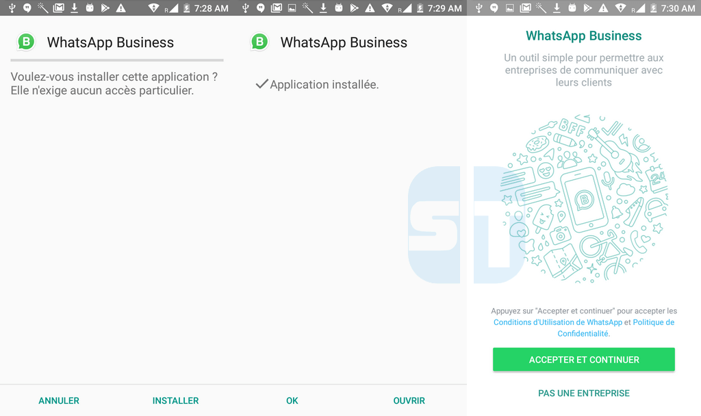 Installer WhatsApp Business 1024x608 Télécharger WhatsApp Business pour Android + Comment l'utiliser