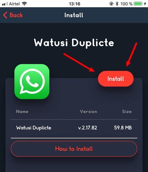 Installer WhatsApp watusi Télécharger WhatsApp++ et WhatsApp Watusi pour iOS sans jailbreak