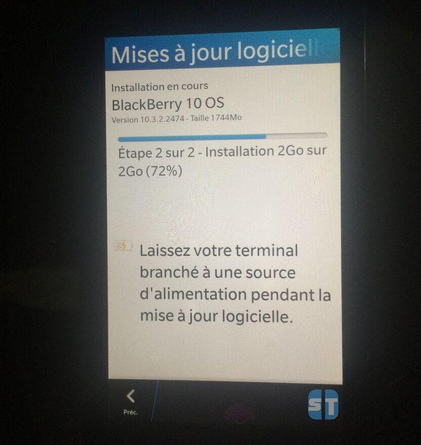 BlackBerry 10 Mise à jour logicielle Comment Continuer d'Utiliser WhatsApp sur BlackBerry 10