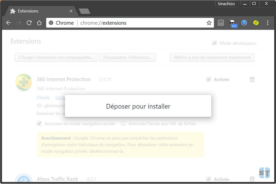 Extensions chrome Comment télécharger et installer une extension Chrome manuellement