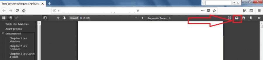 Impression Firefox