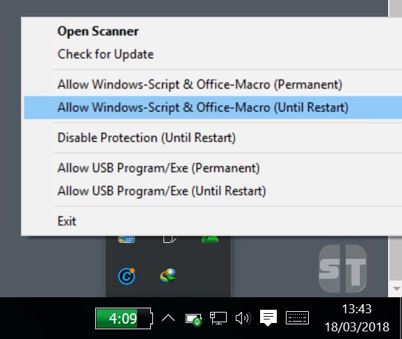 Allow Windows Script Office Macro Comment activer l'accès à Windows Script Host sur Windows 10/8/7