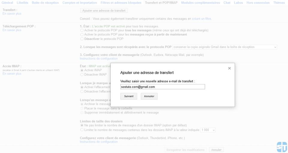 Nouvelle adresse de transfert Guide complet pour changer d'adresse mail Gmail ou compte Google sans rien perdre