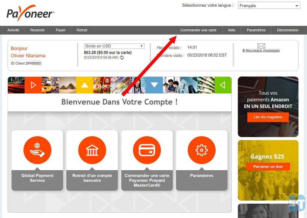 Accueil Payoneer 1024x728 Guide Payoneer 2 : Obtenir carte MasterCard gratuite + ajouter des fonds sur un compte Payoneer