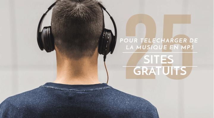 25 Sites pour télécharger de la musique en MP3 gratuitement