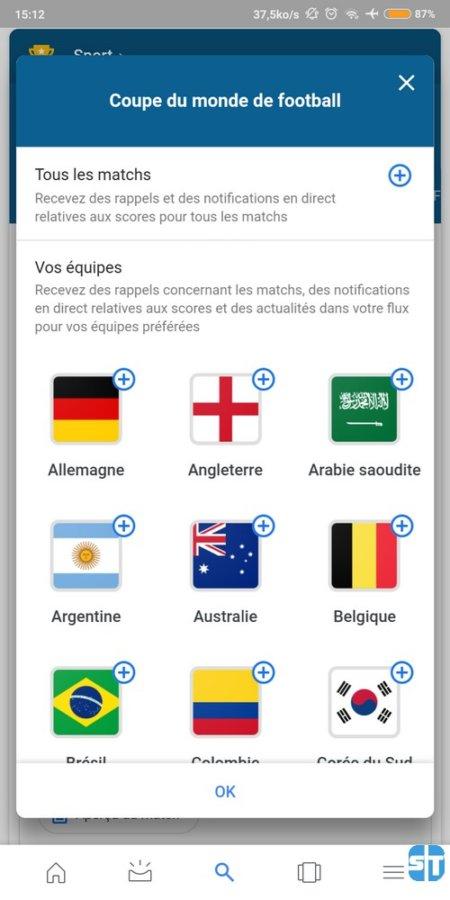 Sabonner à la coupe du monde 2018 450x900 Coupe du Monde 2018 : Voici comment avoir les résultats des match sans application