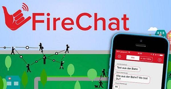 Firechat Messenger Top 5 Applications de messagerie gratuites pour Communiquer sans Internet