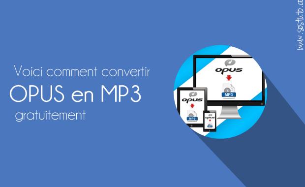 convertir opus en mp3 Comment convertir le fichier audio WhatsApp en MP3 – Convertisseur OPUS en MP3