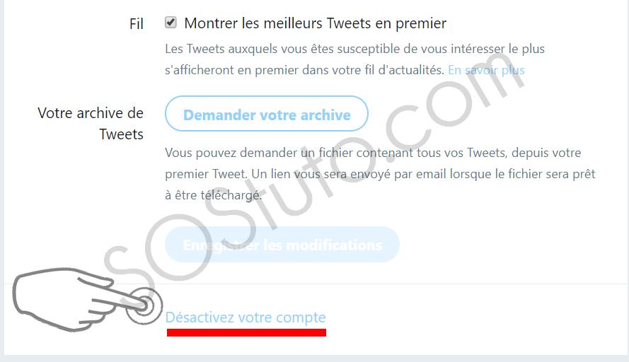 desactiver compte twitter Comment supprimer un compte Twitter sur Android, iPhone ou PC en 2019