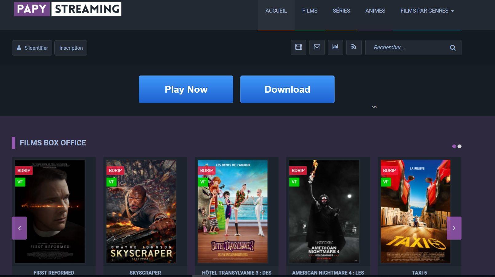 Papy Streaming Les Sites de Streaming Gratuits pour voir les Films et Séries en Français