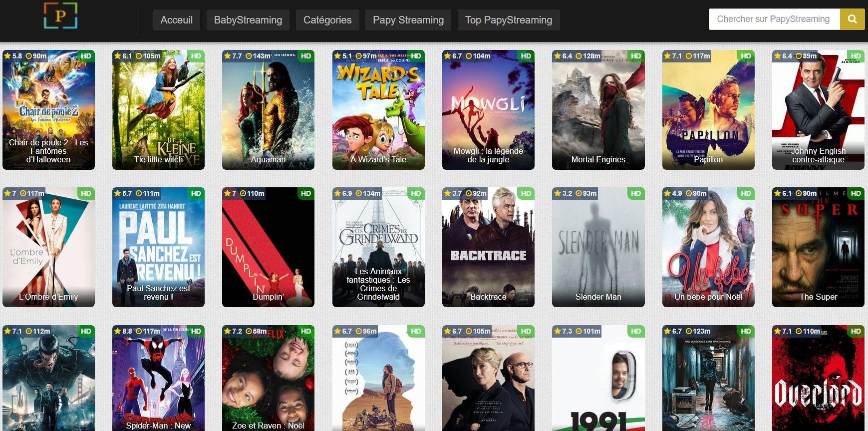 PapyStreaming Les Meilleurs Sites de Streaming Gratuits - Films et Séries en Français