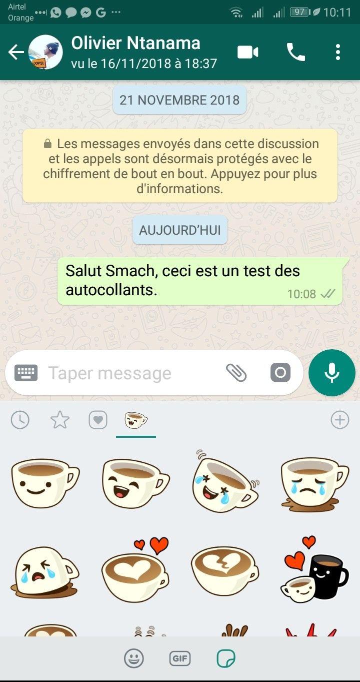WhatsApp stickers Comment Télécharger & Envoyer des Stickers sur WhatsApp