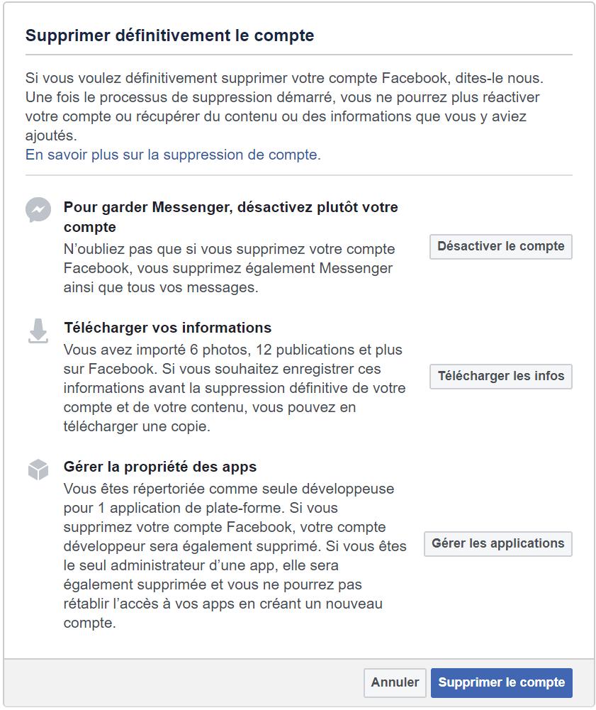 supprimer definitivement Facebook Supprimer un Compte Facebook définitivement – Voici les étapes