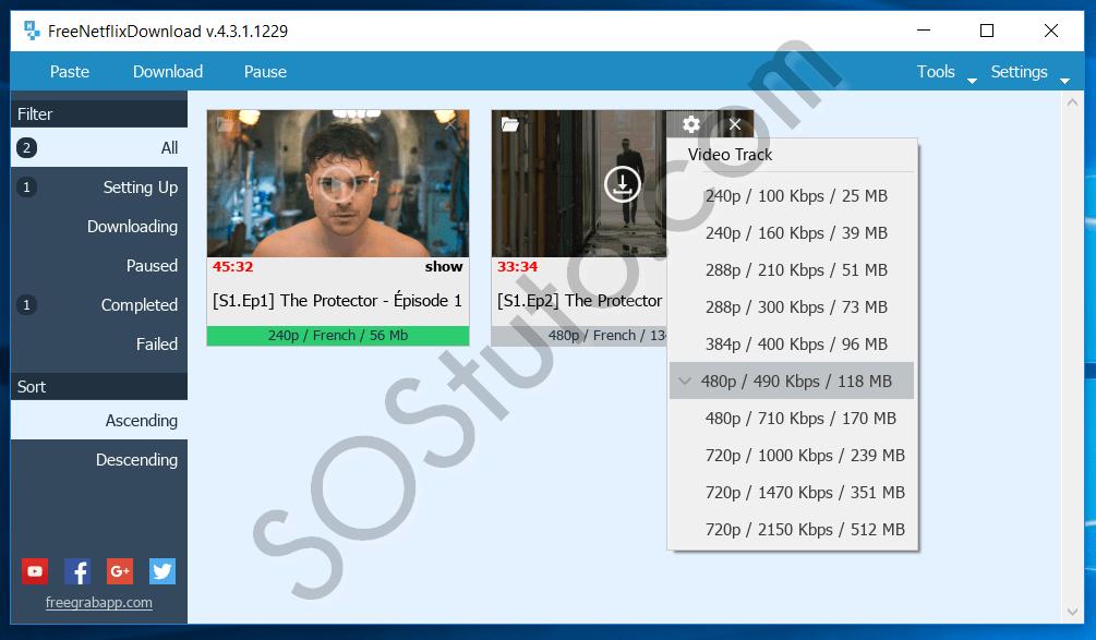Qualité video 4K Netflix FlixGrab - Comment télécharger les vidéos NetFlix sur PC (Films&Séries)