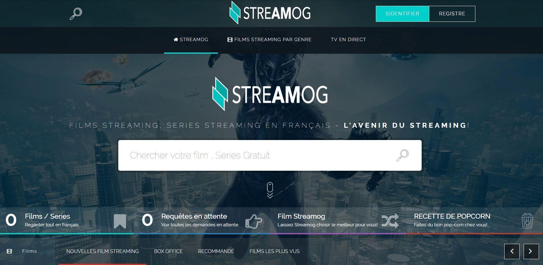 Streamog Accueil Comment Regarder un Film Complet en streaming – Streamog Avis