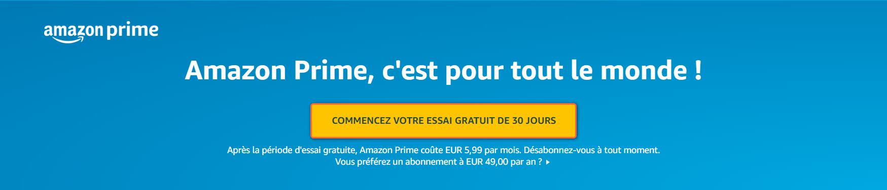 Amazon Prime Comment Avoir un Compte Amazon Prime Vidéo gratuitement