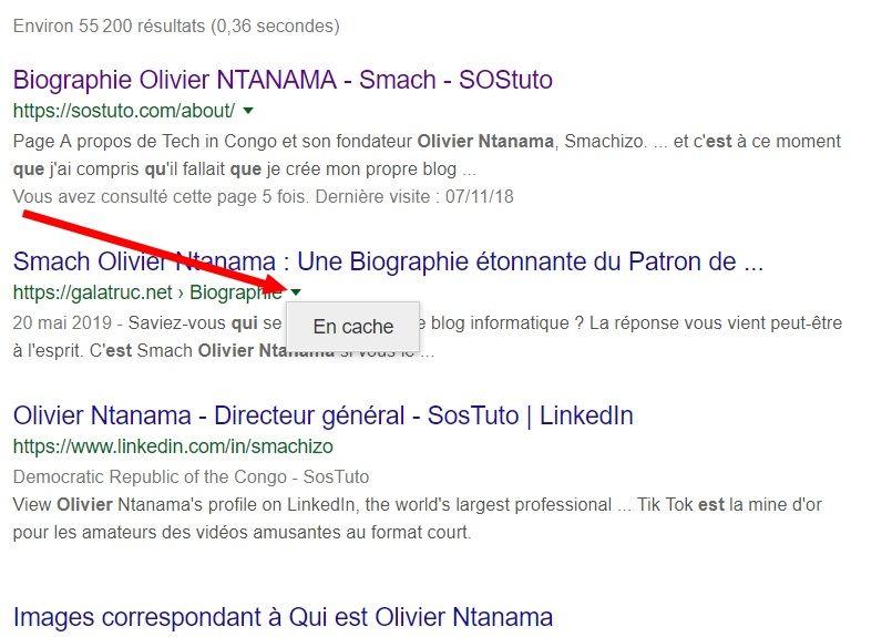 Resultats Google Qui est Olivier Ntanama Wayback Machine – Voir un Site Web à une Date Antérieure