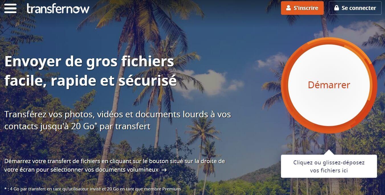 TransferNow Comment Envoyer un Fichier Volumineux par E-mail? 5 Solutions