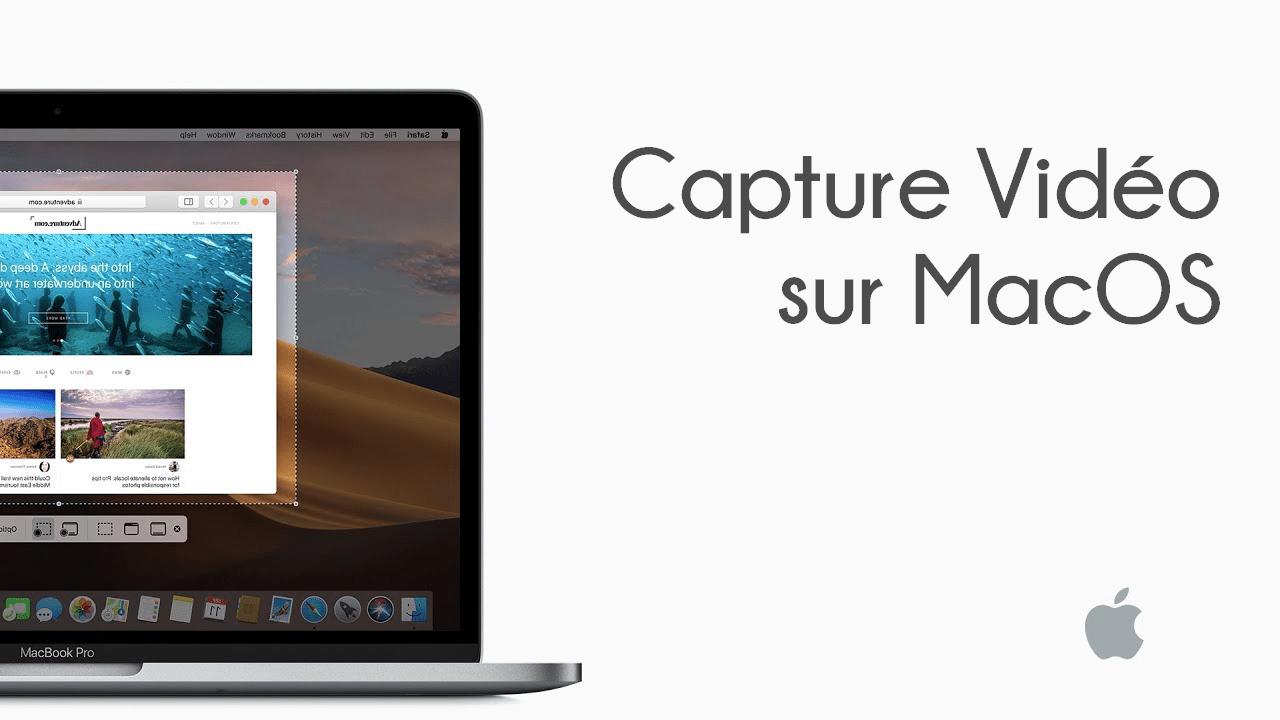 Capture Video Mac Comment Faire une Capture Vidéo sur Mac avec Son Interne