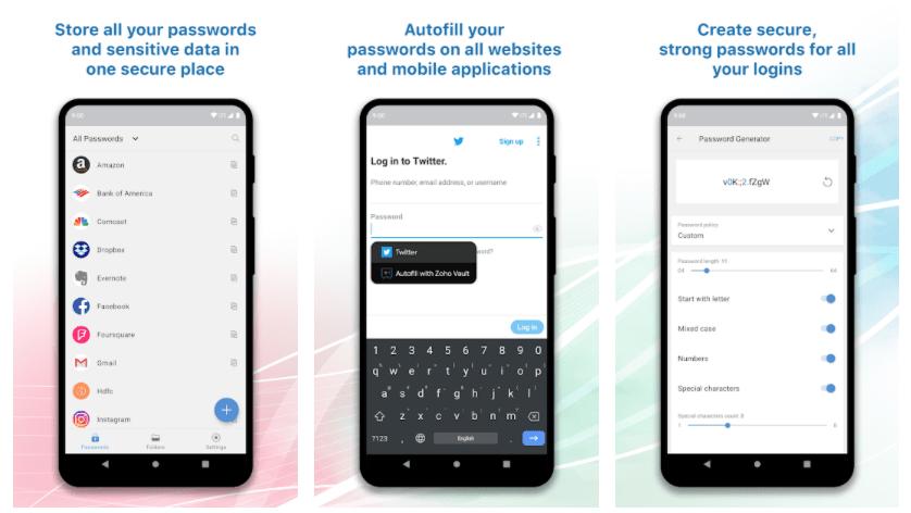 Zoho Vault Password Top 7 Alternatives à LastPass – Les Meilleurs Gestionnaires de Mot de Passe Gratuits