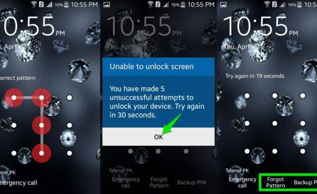 debloquer telephone android Supprimer un schéma, mot de passe oublié sur android – le moyen le plus facile