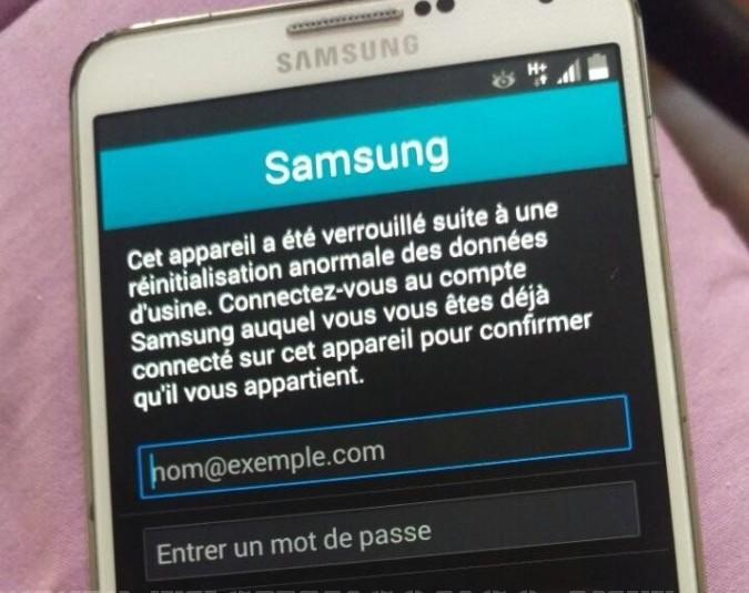 samsung account locked Comment cracker le verrouillage de reactivation sur le Samsung Galaxy S6 G920 (Sans OTG)