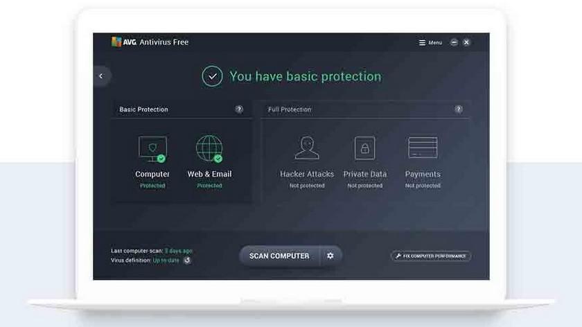 AVG Antivirus Les 5 Meilleurs Antivirus Gratuits pour Windows et Mac