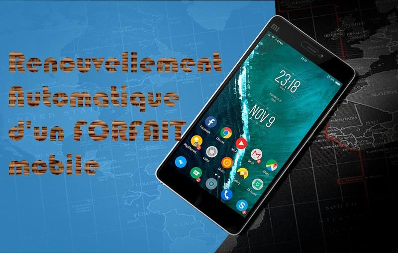 Xiaomi USSD Comment renouveler automatiquement un forfait mobile sur Android