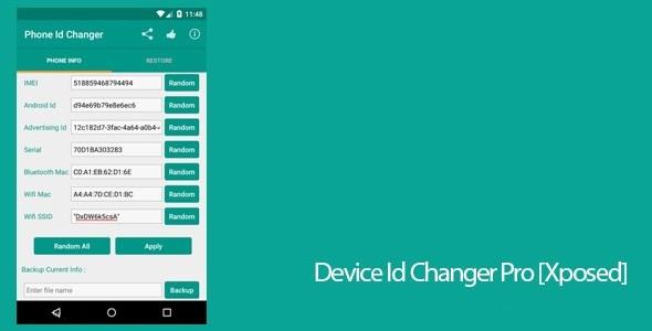 Device ID Changer Top 10 de Meilleures Applications de Piratage pour Android