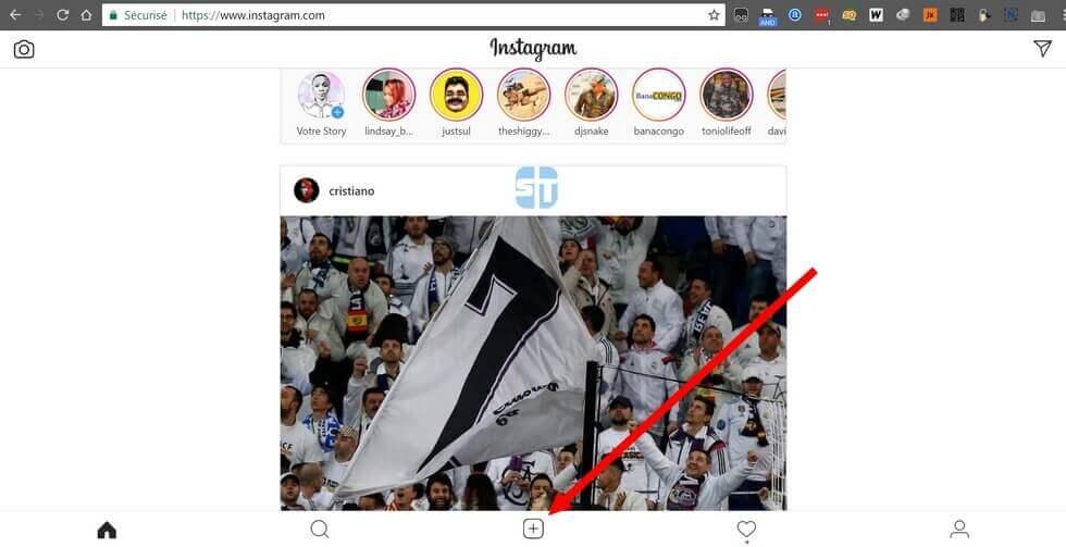 Accueil Instagram sur PC Comment Publier une Photo sur Instagram depuis un PC