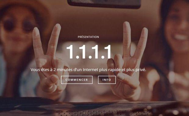 1.1.1.1 Cloudflare DNS Cloudflare lance le résolveur DNS le plus performant pour booster internet