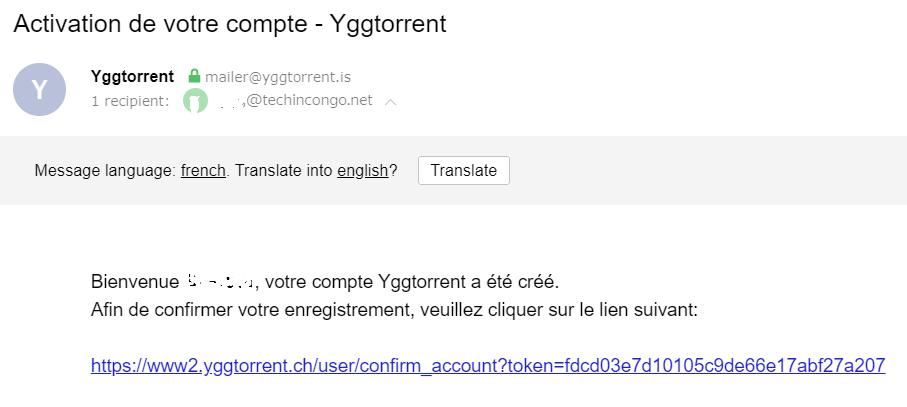 Activation compte YGGTORRENT Comment Télécharger sur YGGTorrent – Gestion de Ratio YGG