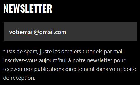 Newsletter SOStuto Comment s'abonner sur SOStuto.NET