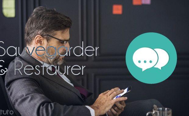 sauvegarde restaurer sms google drive Comment Sauvegarder et Restaurer ses SMS sur Android sur Google Drive