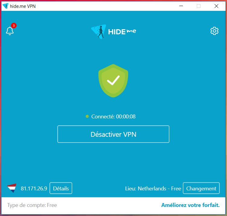 hide.me VPN Les Meilleurs VPN Gratuits Illimité pour Windows 10 en 2020