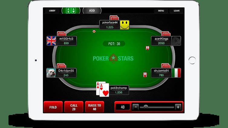 PokerStars Mobile Les Meilleures Applications de Jeux de Cartes pour Android