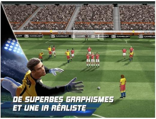 Real FootBall Télécharger les Meilleurs Jeux de Foot pour Android Gratuitement