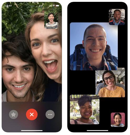 FaceTime Appel en Groupe Top 10 Applications Pour Passer Des Appels Vidéo en Groupe