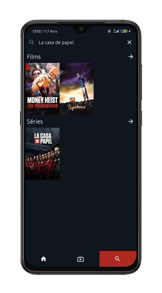 Recherche Netflix Télécharger WATCHED pour Regarder Netflix Gratuitement et sans Publicités