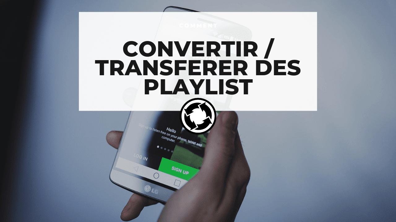 convertisseur playlist mp3 Playlist Converter : Importer Une Playlist Deezer Vers Spotify, YouTube, Mp3