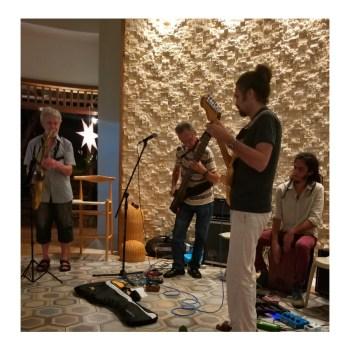 :Live jazz at the Beach Club Seahorse Ranch in Sosua
