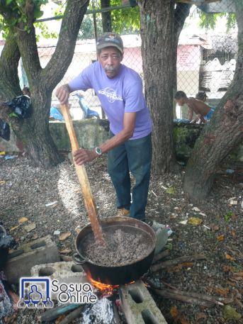 Moro de Habichuela Negra en Leña