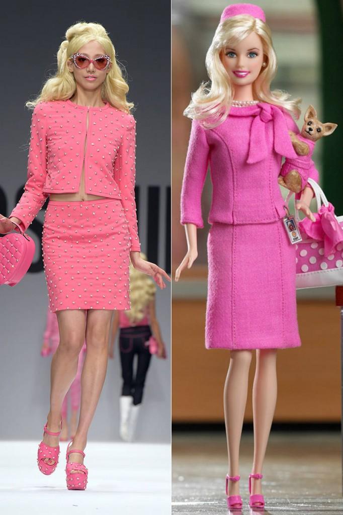 Moschinos Barbie Inspired Fashion  So Sue Me