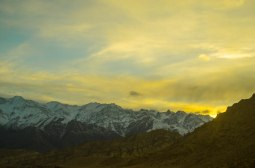 Another beautiful sunset on the Stok Range