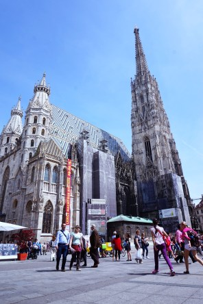 Saint Stephen Cathedral in Wien, Austria. Copyright @ sosunnyproject