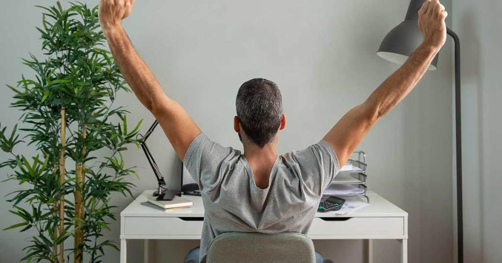 fisioterapeutas comentam a postura no home office